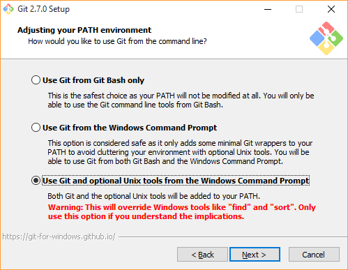Git-SSH-Windows