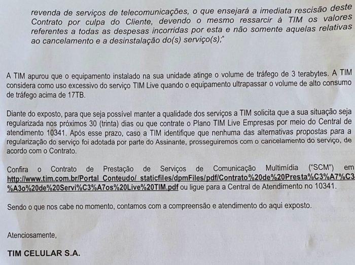 Carta da TIM LIve