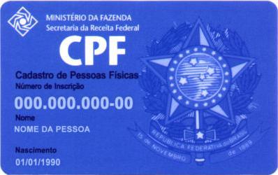 exemplo de CPF