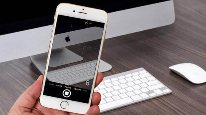 Como ativar o timer da câmera do iPhone para fazer uma foto