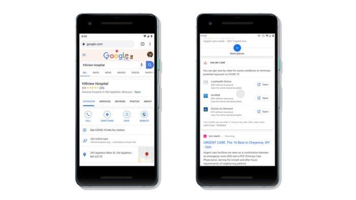 Google vai destacar atendimento médico online no Maps e na busca